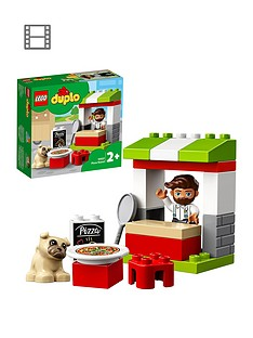 lego-duplo-10927-pizza-stand-for-toddlers-with-dog-figure