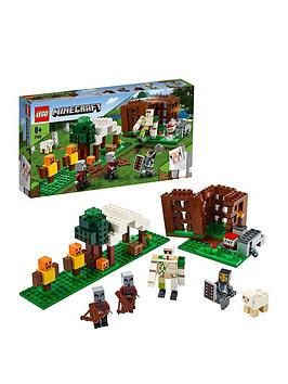 Lego Minecraft 21159 The Pillager Outpost With Iron Golem Figure