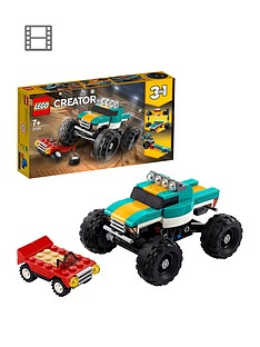lego-creator-31101-monster-truck-muscle-car-dragster