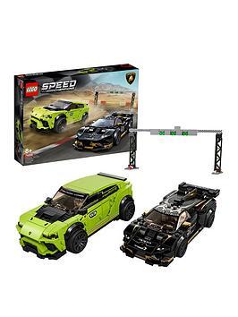 Lego Speed Champions 76899 Lego Speed Champions Lamborghini Urus St-X  Lamborghini HuracN Super Trofeo Evo
