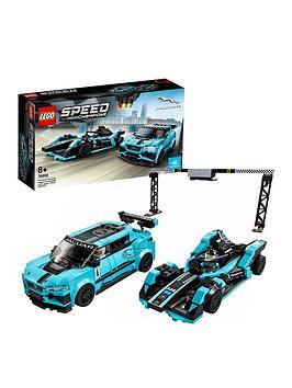 Lego Speed Champions 76898 Formula E Panasonic Jaguar Racing Gen2 Car  Jaguar I-Pace Etrophy