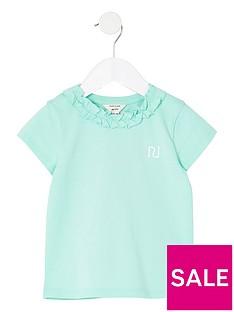 river-island-mini-girls-frill-neck-t-shirt--nbspmint