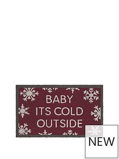 baby-its-cold-outside-coir-mat