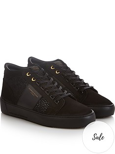 android-homme-mensnbsppropulsionnbspmid-leather-trainers-black