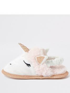 river-island-mini-mini-girls-unicorn-slipper-pink