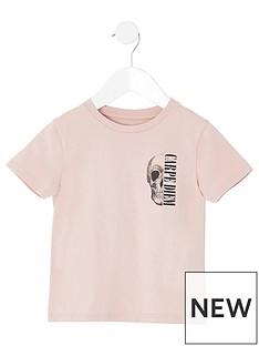 river-island-mini-mini-boys-skull-print-tshirt-pink