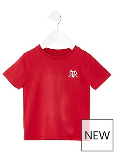 river-island-mini-mini-boys-rvr-embroidered-tshirt-red