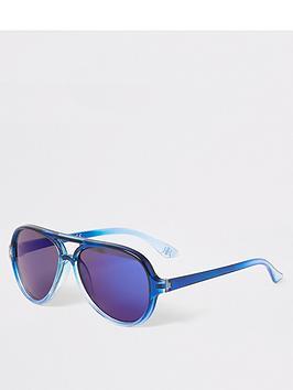 river-island-mini-boys-aviator-sunglasses--nbspblue