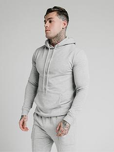 sik-silk-smart-overhead-hoodie-grey