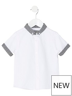 river-island-mini-mini-boys-check-button-collar-shirt-white