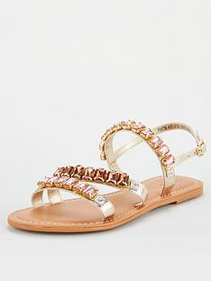 v-by-very-halt-leather-embellished-sandal-rose-gold