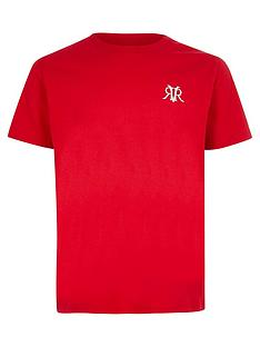 river-island-boys-rvr-embroidered-t-shirtnbsp--red