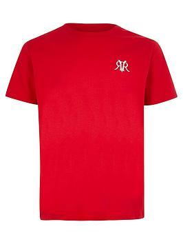 river-island-boys-rvr-embroidered-t-shirtnbsp--red