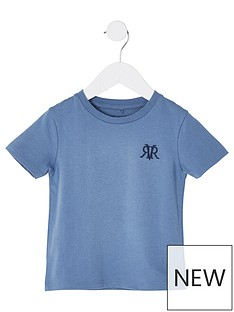 river-island-mini-mini-boys-rvr-embroidered-tshirt-blue