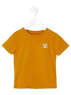 river-island-mini-boys-rvr-embroidered-t-shirt--nbspyellow