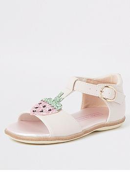 river-island-mini-mini-girls-strawberry-sandal--pink