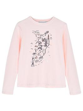 mintie-by-mint-velvet-girls-nyc-graphic-long-sleeve-t-shirt-peach