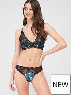 boux-avenue-romilly-thong-blackgreen