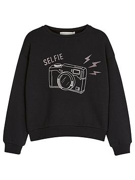 mintie-by-mint-velvet-girls-camera-sweatshirt-black