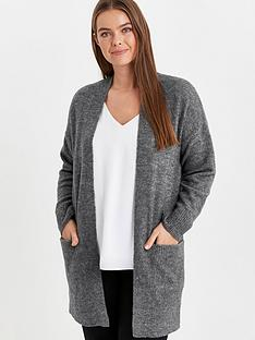 evans-compactnbspknit-cardigan-grey