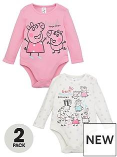 peppa-pig-baby-girl-peppa-pig-2-packnbspbest-friends-forever-bodysuits-multi
