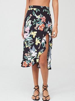 pour-moi-miami-brights-wrap-skirt-black