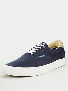 jack-jones-mork-canvas-plimsolls-navy