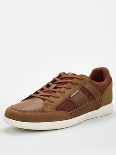 jack-jones-byson-mesh-mix-trainers-brown