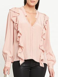 sofie-schnoor-pouline-ruffle-front-blouse-pink