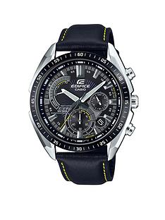 casio-casio-edifice-black-and-silver-detail-chronograph-dial-black-leather-strap-mens-watch