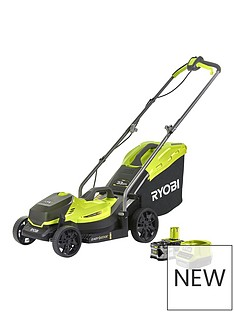 ryobi-ryobi-rlm18x33b40-18v-one-cordless-33cm-lawnmower-starter-kit-1-x-40ah