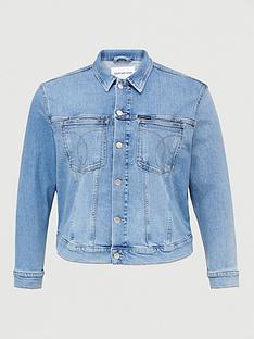calvin-klein-jeans-plus-trucker-denim-jacket-denim