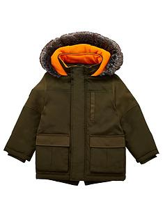 v-by-very-boys-shower-proof-premium-parka-coat-khaki