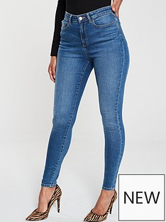 v-by-very-short-florence-high-rise-skinny-jean-mid-wash