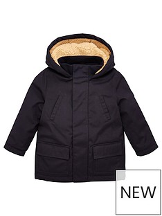 v-by-very-boys-premium-borg-lined-hooded-coat-navy