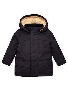 v-by-very-boys-premium-borg-lined-hooded-shower-proofnbspcoat-navy