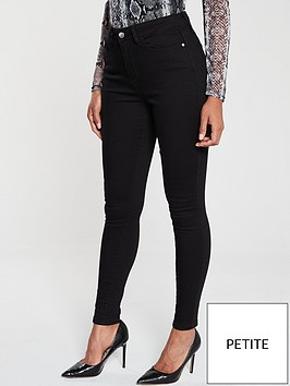 v-by-very-short-florence-high-rise-skinny-jean-black