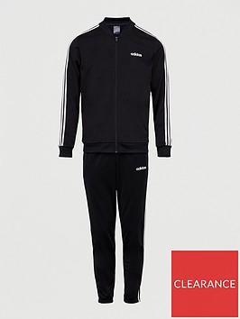 adidas-back-to-basic-3-stripe-tracksuit-blackwhite