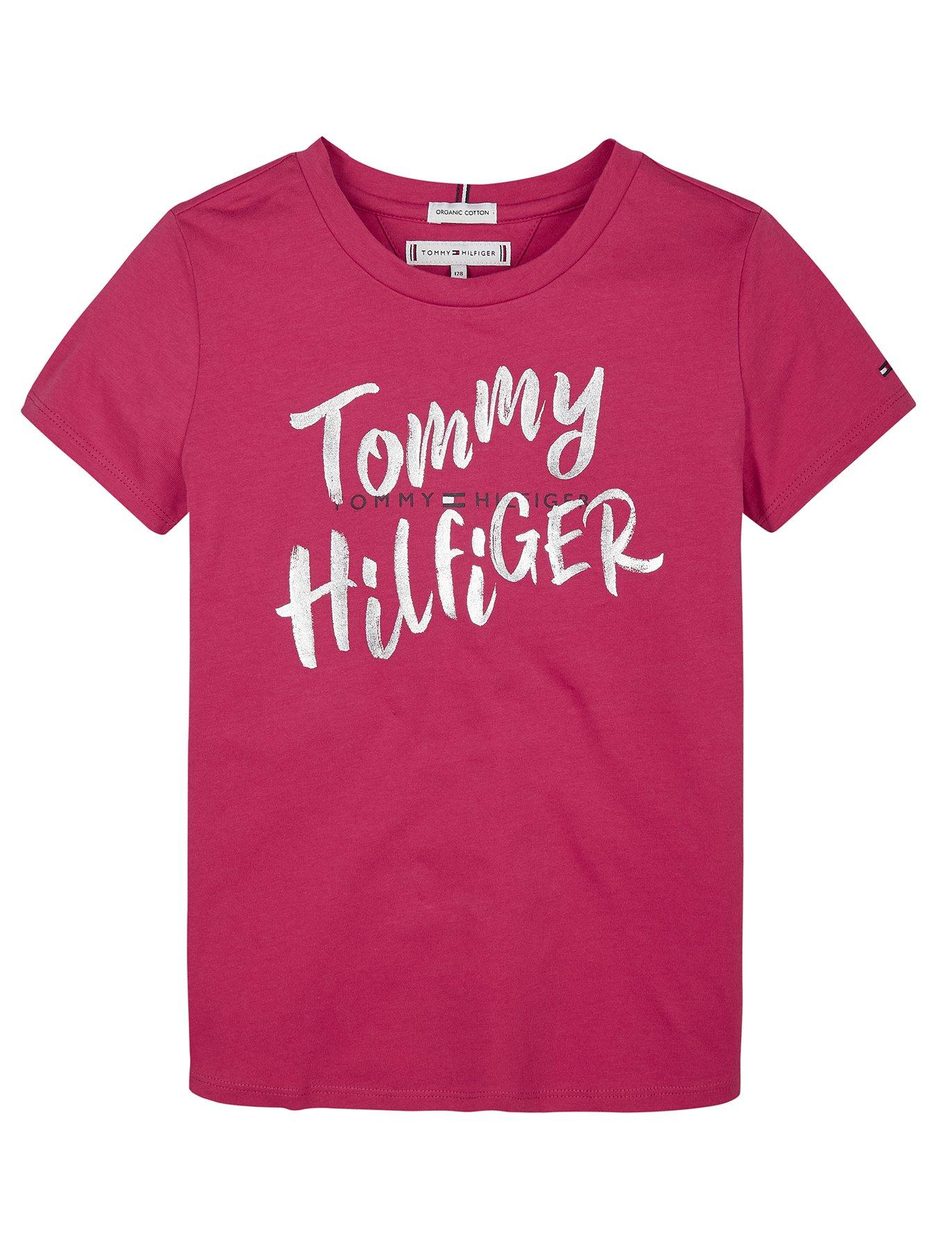 tommy hilfiger t shirt for girls