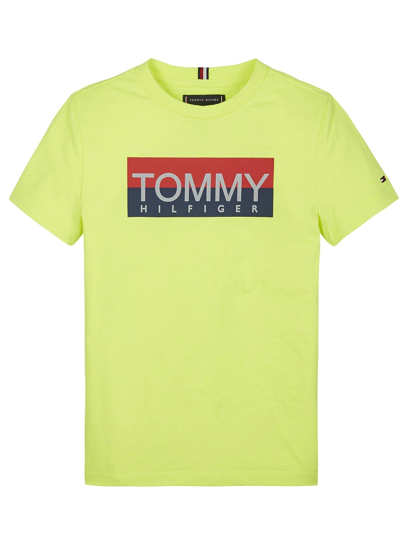 Thin Red Line Flag Unisex Youths Short Sleeve T-Shirt Kids T-Shirt Tops Black
