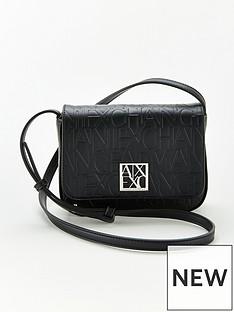 armani-exchange-small-strap-shoulder-bag-black