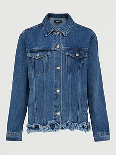 missguided-missguidednbspfrayed-hem-denim-jacket-denim-blue