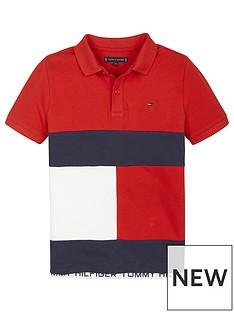 tommy-hilfiger-boys-colourblock-short-sleeve-polo