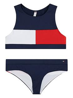 tommy-hilfiger-girls-flag-bikini-set