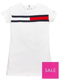 tommy-hilfiger-girls-flag-jersey-dress-white