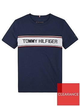 tommy-hilfiger-boys-intarsia-short-sleeve-t-shirt-navy