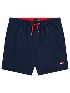 tommy-hilfiger-boys-flag-drawstring-swim-shorts-navy