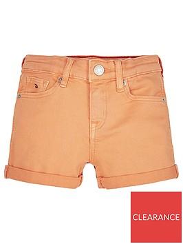 tommy-hilfiger-girls-nora-denim-shorts-orange
