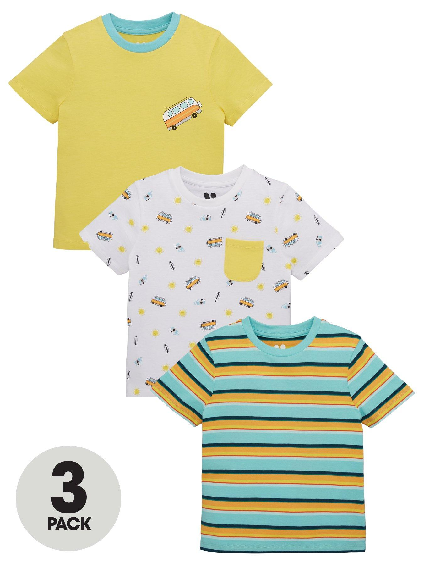 Seconds Kids Plain Cotton Rich T-Shirt