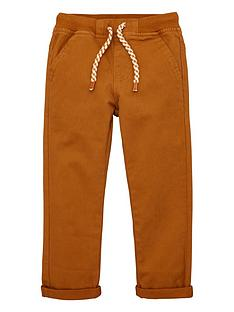 v-by-very-boys-rib-waistband-woven-trouser-tan